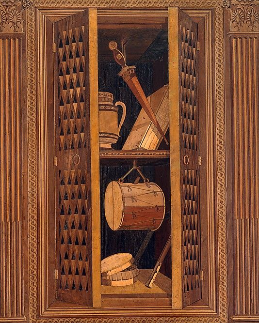 .:. Studiolo from the Ducal Palace in Gubbio Designed by Francesco di Giorgio Martini