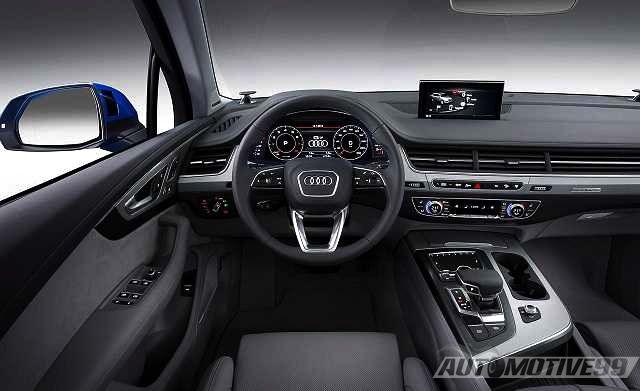 Interior 2017 Audi Q5 Review