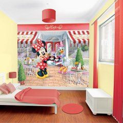Walltastic #fotobehang #Disney Minnie Mouse
