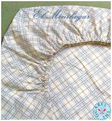 El Minihogar, como confeccionar una sábana