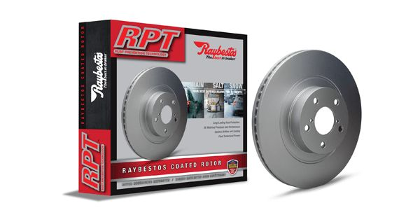 New Raybestos RPT Rust Prevention Technology Rotors Provide Long-Lasting Protection Agai...