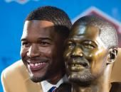 MICHAEL STRAHAN does the 'improbable' from Germany to Texas Southern to NY Giants to Hall of Fame August 3, 2014 - He had just one year of high school football before moving on to tiny Texas Southern University, where his only goal was to make his father proud. A 1993 second round draft pick by the Giants, Strahan was admittedly overwhelmed joining a locker room ruled at the time by the likes of Lawrence Taylor and Phil Simms. www.nydailynews.com/sports/football/giants