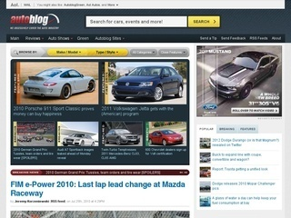 Check out http://www.autostream.org/, the best auto blog which contains full coverage of the latest auto news, including daily updates on new models, tuning news, electric cars, concept cars, videos, road tests and more.