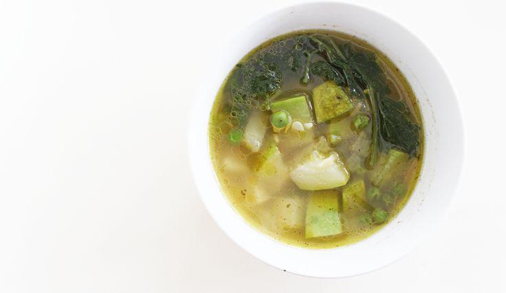 Sopa de Chilacayote - receta facil - la canasta verde - cultivarium