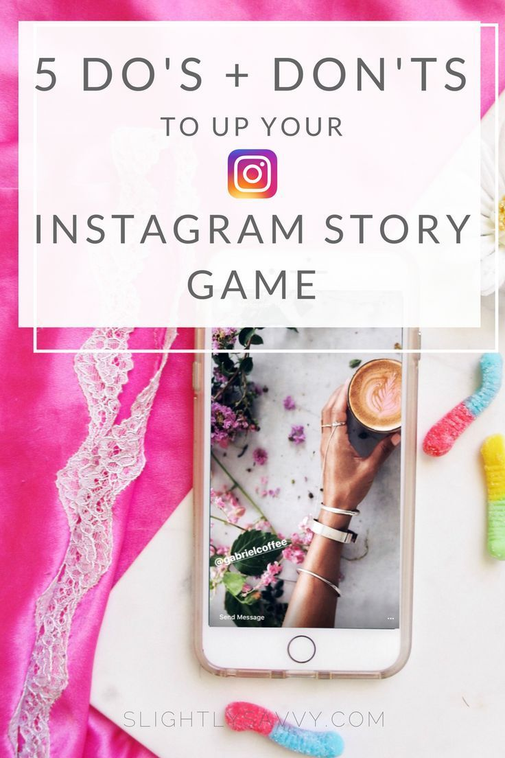 how to make an instagram story