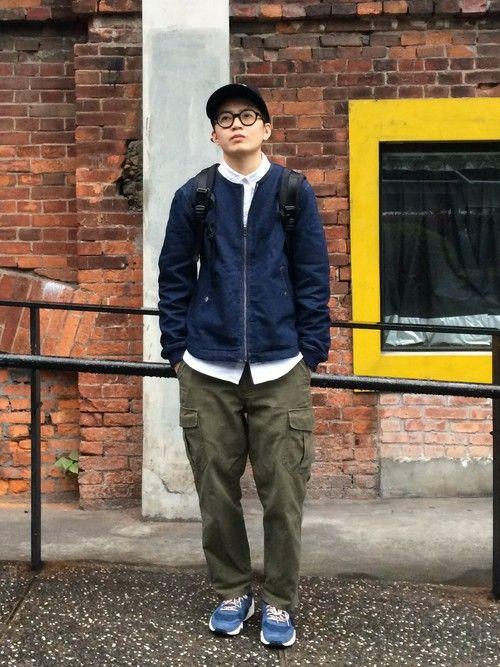 URBAN RESEARCHのノーカラージャケットを使った陳曼嘉のコーディネートです。WEARはモデル・俳優・ショップスタッフなどの着こなしをチェックできるファッションコーディネートサイトです。