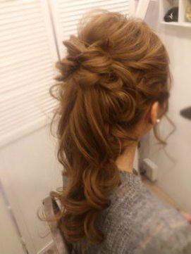 ウェディングヘアスタイル