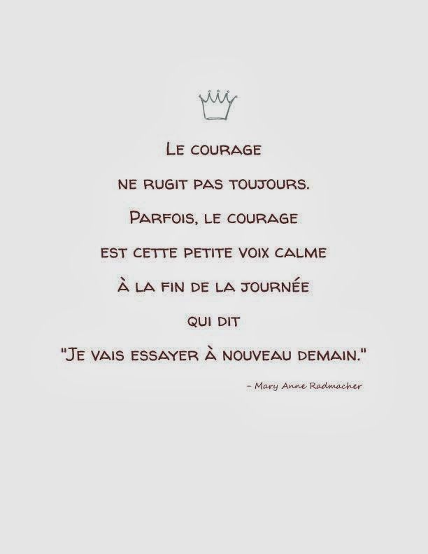 Citations option bonheur: Citation sur le courage