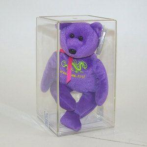 Ultra Rare Beanie Babies | ... Hong Kong Toy Fair 2012 Bear Ty Beanie Baby MWMT's Ultra RARE | eBay
