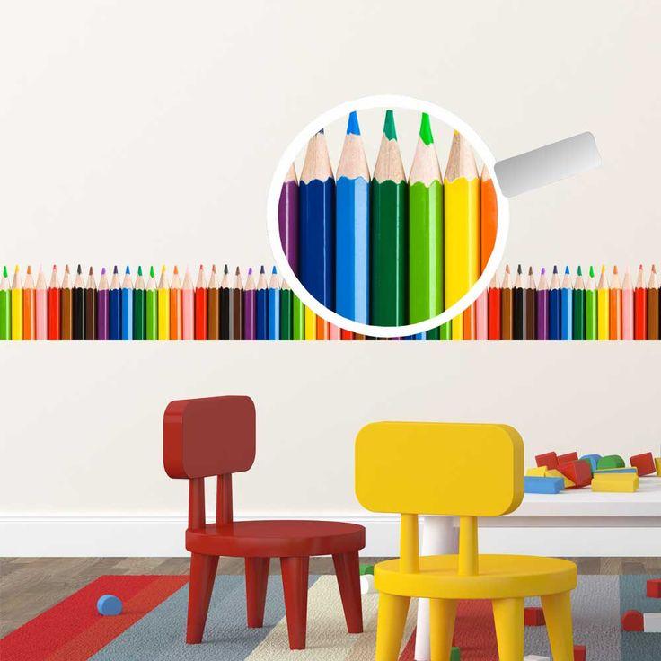 Friza cu Creioane colorate
