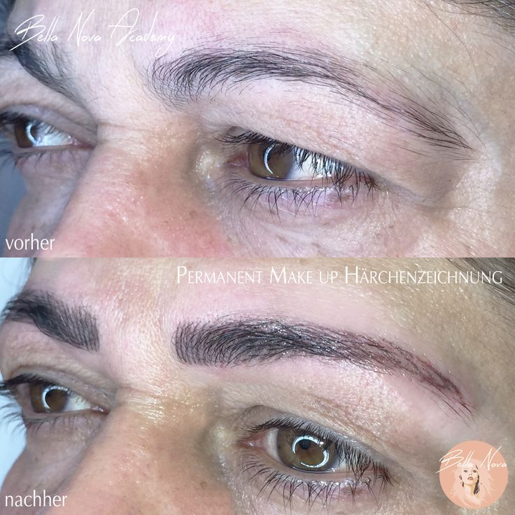 Micro - Technik mit Permanent Make up Gerät #Permanent Make up #Augenbrauen #Augen #härchentechnik #Kosmetik #cosmetics