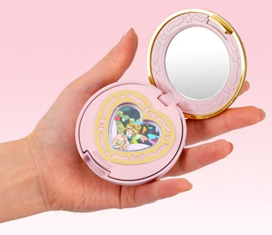 Sailor Moon locker - opens up to hold small pieces of jewelry