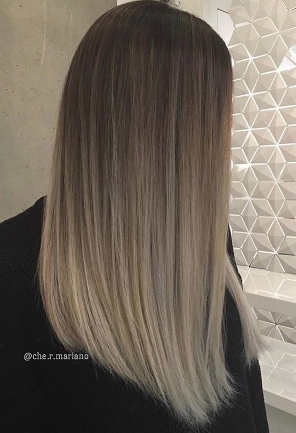 Balayage Cabello Corto Video Ash Blonde Bayalage Straight Hair Che R Mariano