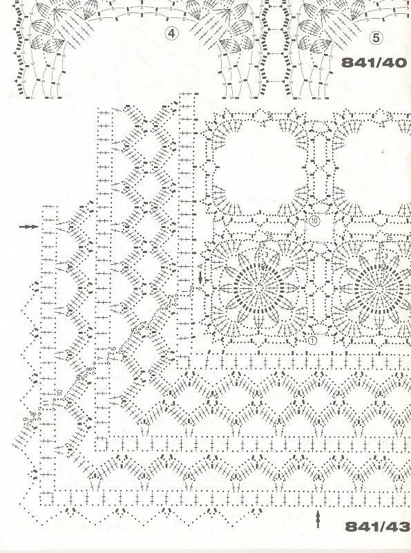 25 besten crochet filet Bilder auf Pinterest   Häkelmaschen ...