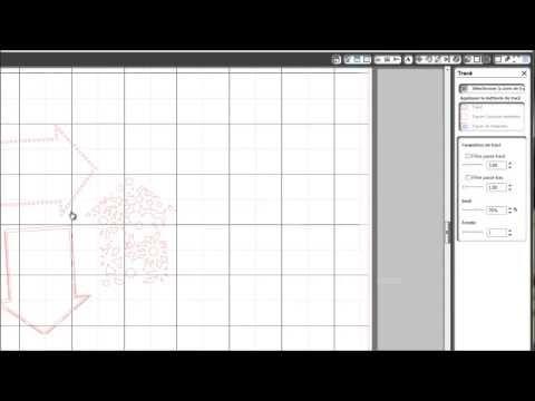 Silhouette Caméo - Découper ses tampons acryliques - YouTube
