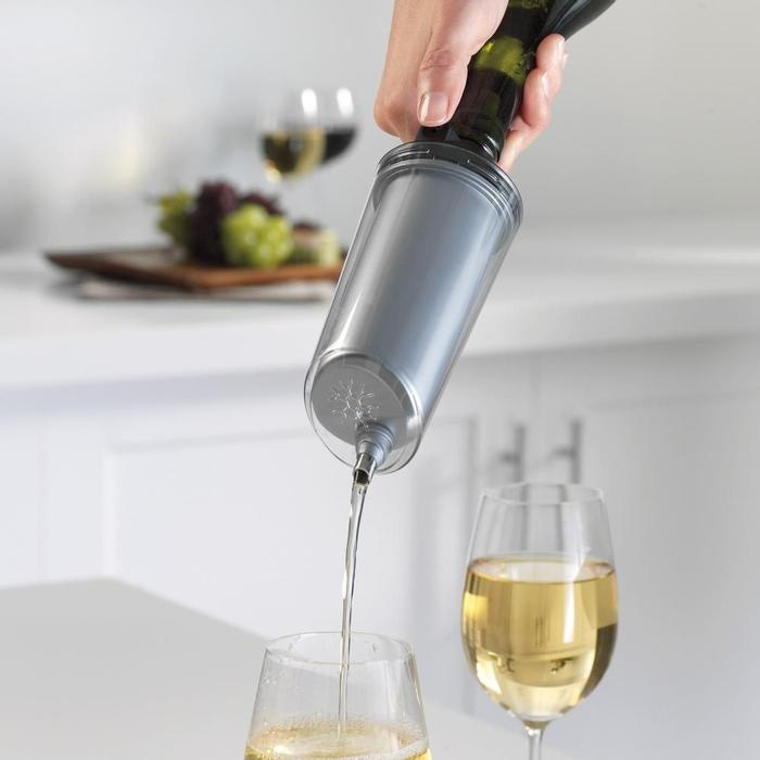 Great wine gadget/gift to refresh and chill white wines.