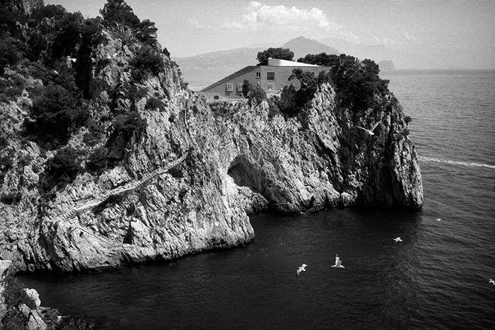 Casa Malaparte, Capri Island, Italy. Marco Guerra