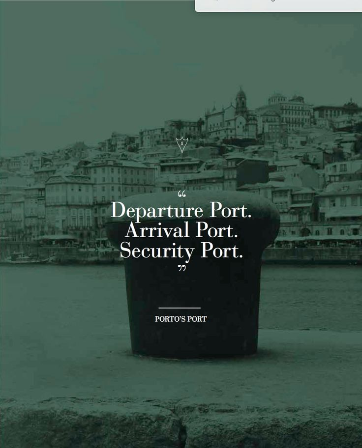 Porto's Port | Inspiration