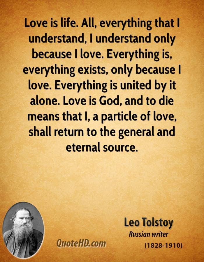 More Leo Tolstoy Quotes on www.quotehd.com