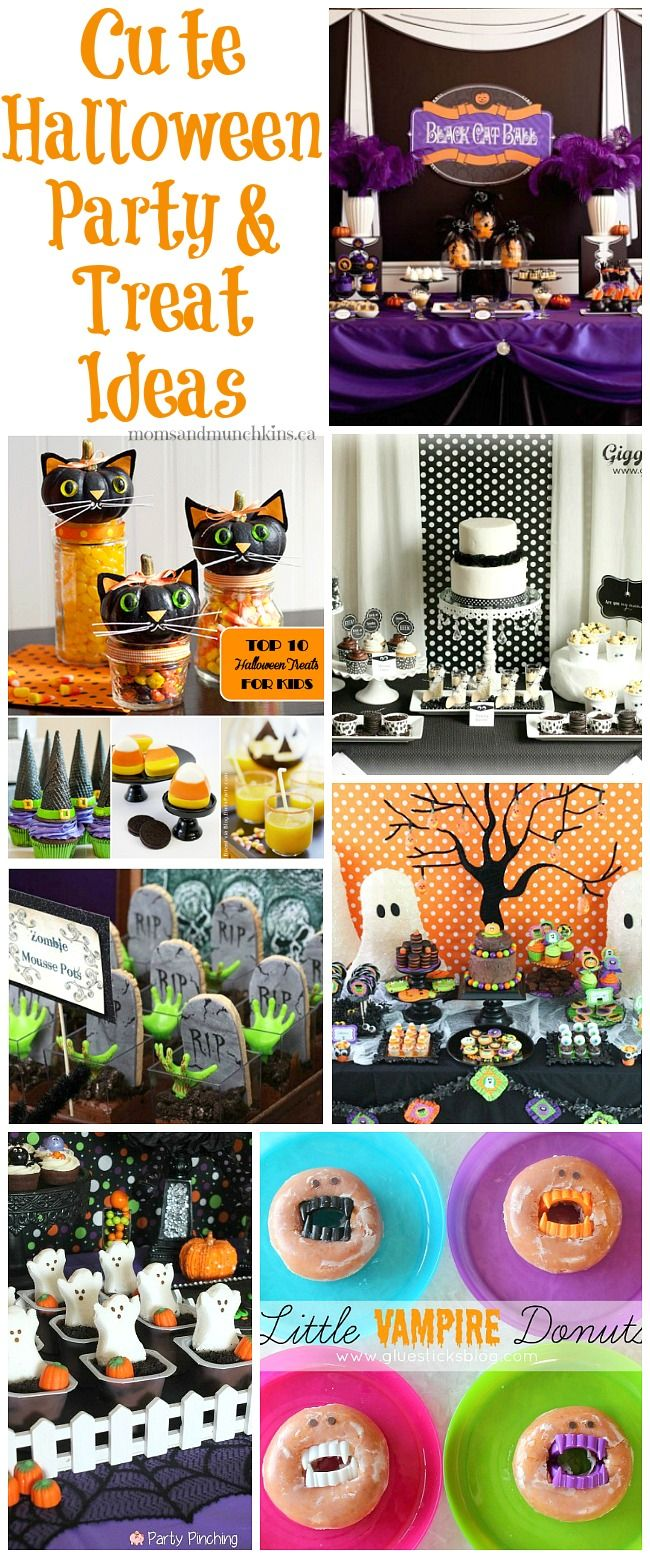 Cute halloween party ideas for kids party treats and for Easy halloween treats for work party