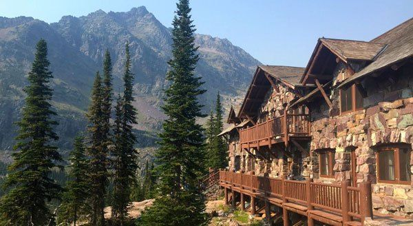 Sperry Chalet Glacier Park- 3 day guided tour and hiking of back country with horse back trail as the only accessible way to get to the chalet! cool