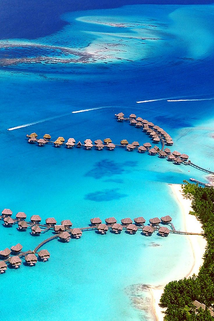 Four Seasons Resort Bora Bora, French Polynesia © Mushi