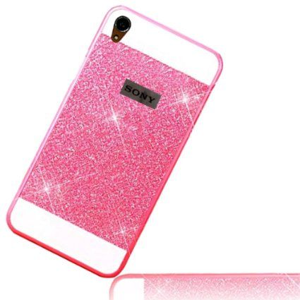 Sunnycase® Coque Etui Luxe Sony Xperia Z3 Smartphone 4G Ultra Mince Paillette…