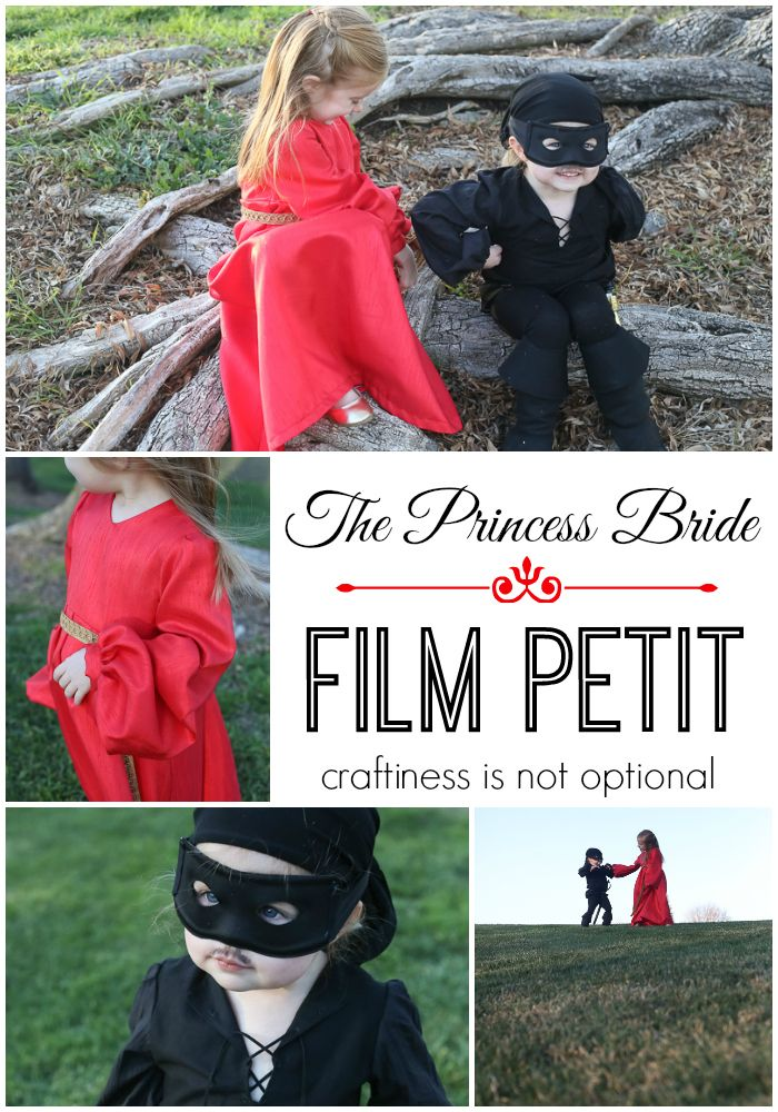 princess bride film petit CINO - seriously cutest thing ever! One of my fave bloggers did her girls up as buttercup and westley and did a photoshoot of one of the scenes from Princess Bride..... priceless!