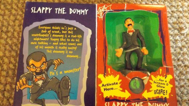 Vintage Goosebumps Toy Hasbro - Slappy the Dummy figure Goosebumps Collectibles