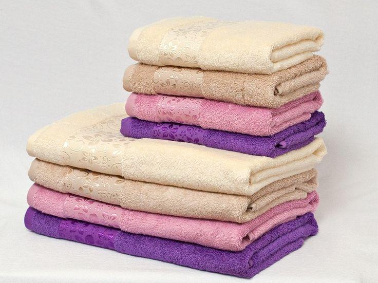 Мягкие красивые полотенца five wien Margarita. Купила фиолетовое и розовое.