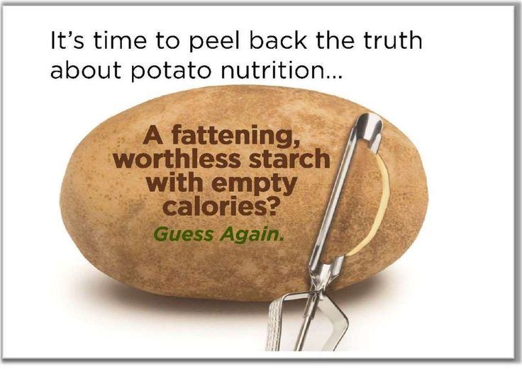 Potato Nutrition Information | Health Facts About Potatoes
