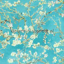 Van Gogh 2015 17140  Almond Blossom behang bij kleurmijninterieur.nl