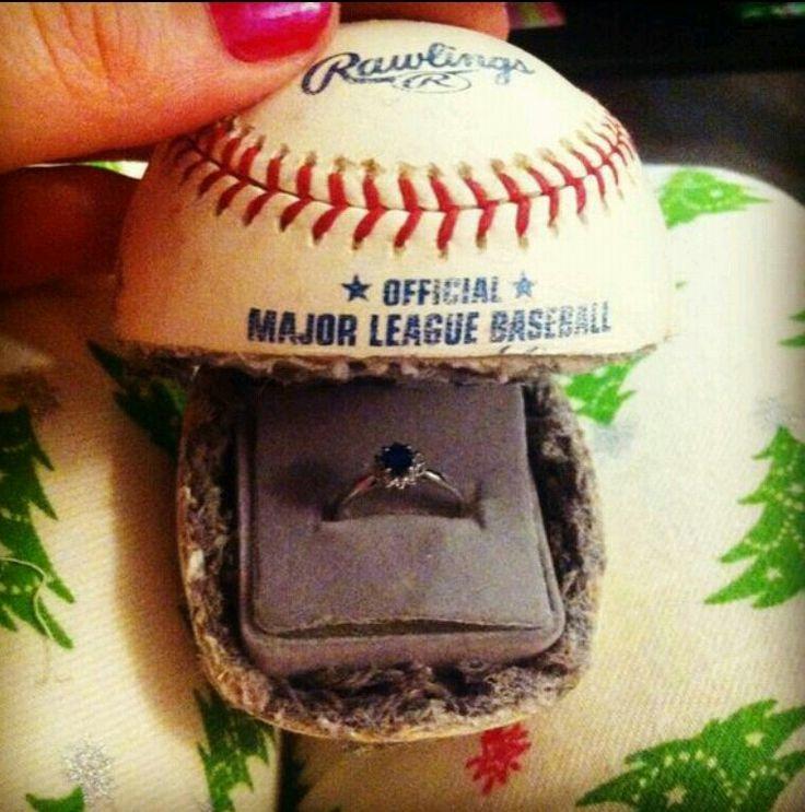 Great idea for any baseball couple