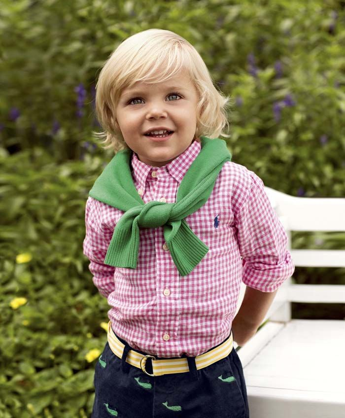"""""""Dress them up for a special occasion or down for a day of fun in this season's playful styles"""" (Ralph Lauren)."""