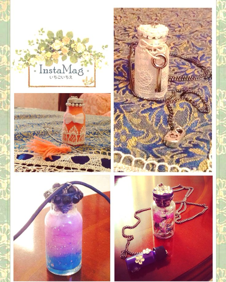 Collane... Necklace #fattoamano #diy #handmade #handcraft #collana #bottiglia #dawanda #faidame