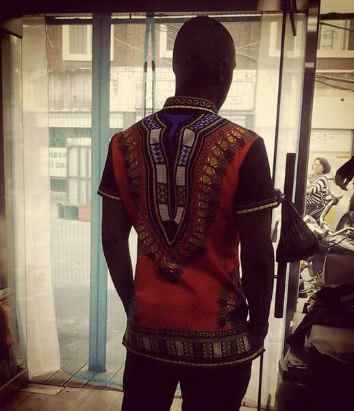 Regal Dashiki shirt (back) $100