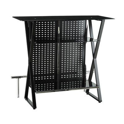 Shop Coaster Fine Furniture Bar Table At Lowes Canada Find Our Selection Of Home Designs Liquor Cabinets The Lowest Price Guaranteed