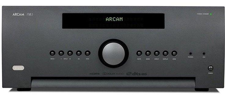 Arcam SR250 Stereo AV Receiver Front View