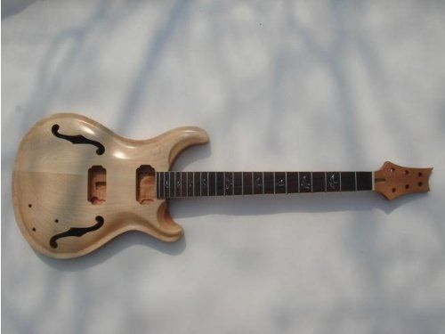 Top grade Unfinished electric guitar body with neck , Exc...