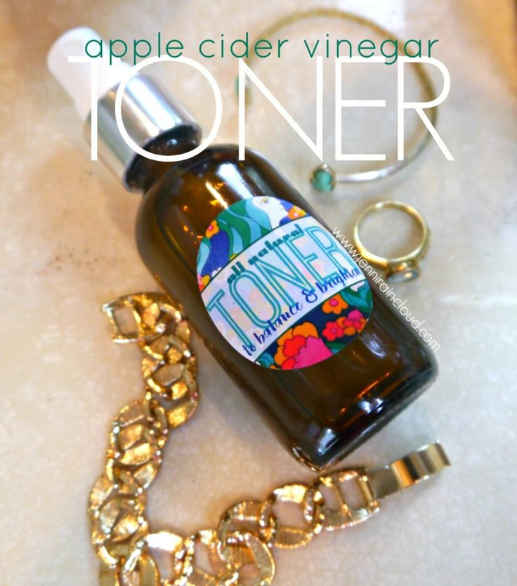 DIY Organic Toner Recipe-with Apple Cider Vinegar