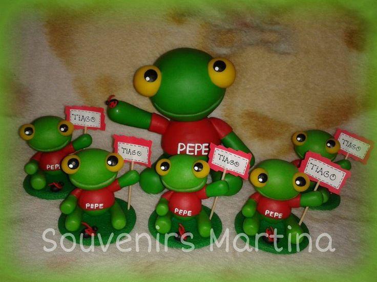 Adorno y Souvenirs Sapo Pepe
