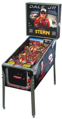 NASCAR Dale Earnhardt Jr / Dale Junior Pinball Machine From Stern Pinball