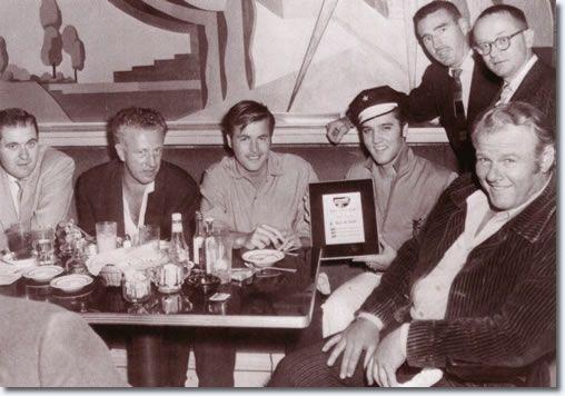 Elvis Presley with Robert Wagner and Alan Hale Jr (Gilligans Island) - October 5