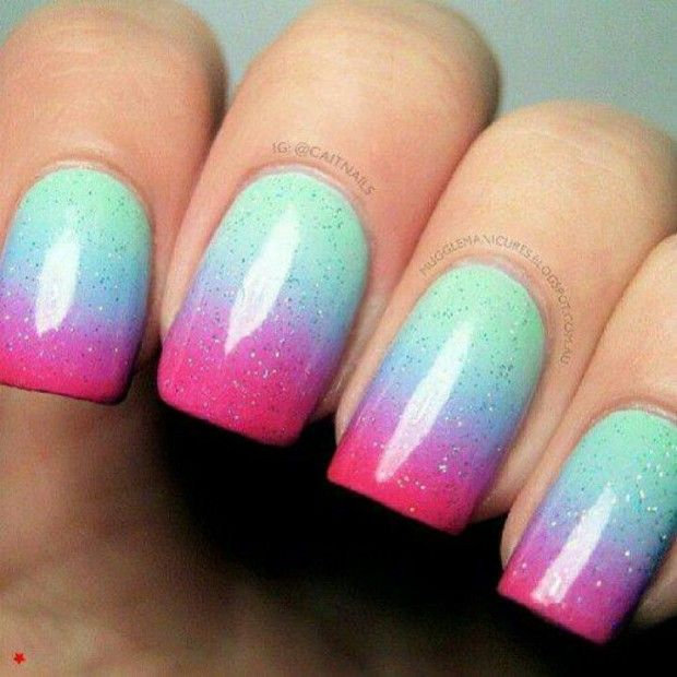 Really want to try ombré nails soon....