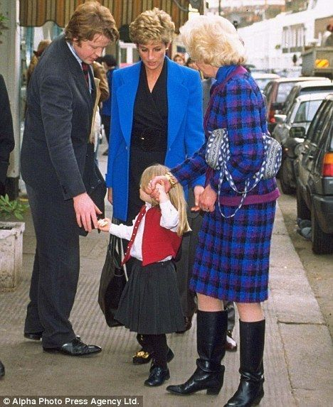 princess of wales - Princess Diana Photo )Their mother Mrs Francis Shand Kydd and Charles Spencer   f
