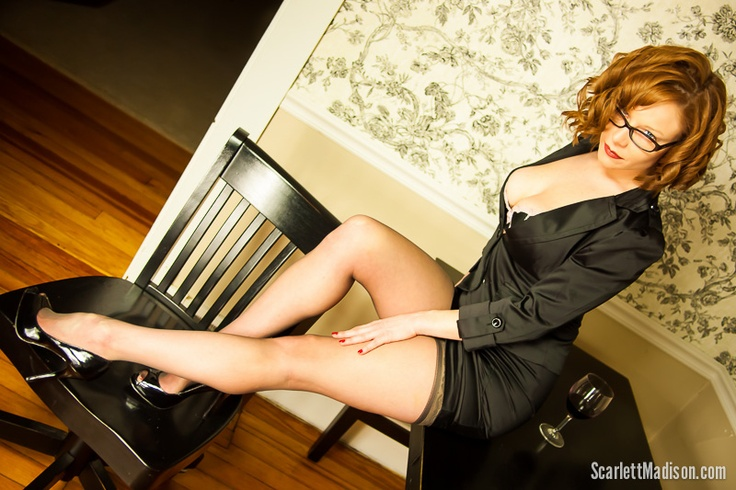 Secretary By Scarlett Madison Via 500px Scarlett