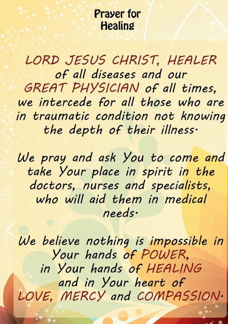 Miracle Prayer For My Nephew...Amen!