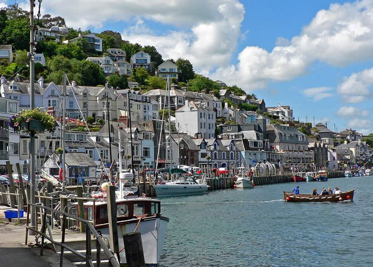My favourite place to visit. Looe, Cornwall. I used to spend virtually every summer here on family holidays.