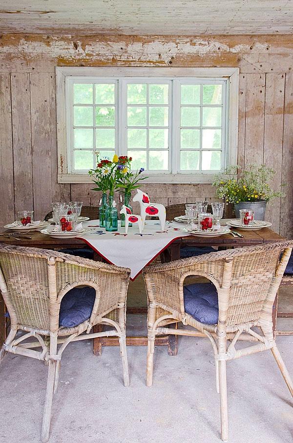 Swedish tablescape...