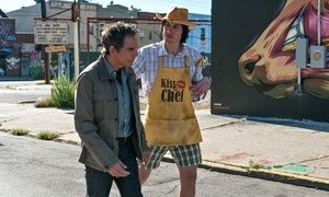 Ben Stiller and Adam Driver in While We're Young